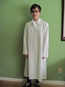 The muslin. (Not professionally photographed.)