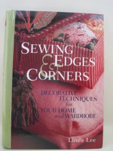 The idea for inserting flat piping into my lining seam came from Linda Lee's book.