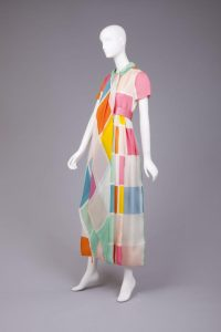 Dress by Bill Blass, 1970. (photo: Goldstein Museum of Design)