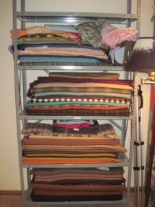 My fabrics are in reasonably good order.