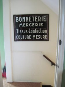 This way to the basement sewing domain!