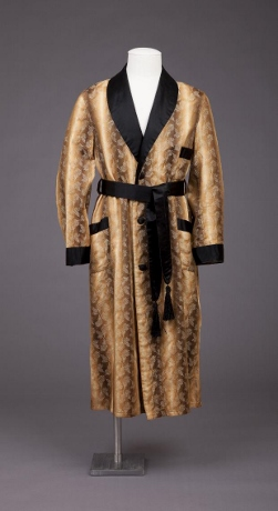 Smoking jacket, 1925-1929. (Photo: Goldstein Museum of Design)