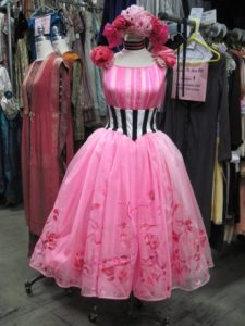 A dress Kristin Chenoweth wore in a production of Babes in Arms at the Guthrie Theater in 1996.