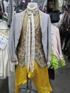 T. R. Knight wore this in the leading role of Amadeus at the Guthrie Theater in 2001.