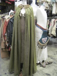 The Cleopatra costume is a popular rental.