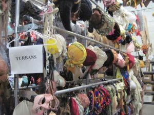 Only one category of many for headgear at Costume Rentals.