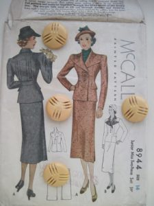 Dating from 1936, this is the pattern for the jacket on this home page. Recognize it?