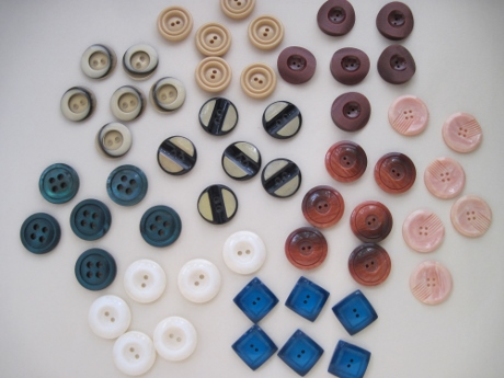 I have enough buttons of each of these styles for more waistcoats.