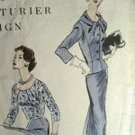 Browsing vintage pattern sites for inspiration.
