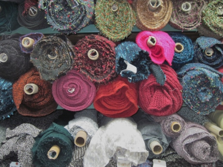 Mood Fabrics. Wools, wools, wools!