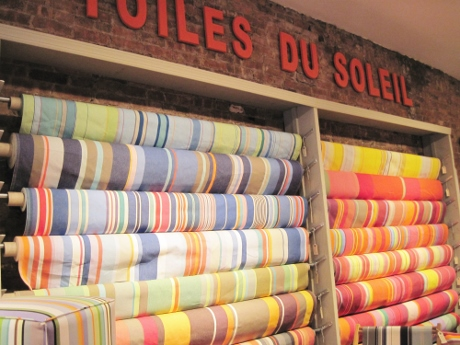 Les Toiles du Soleil's fabrics are like sunshine by the yard.