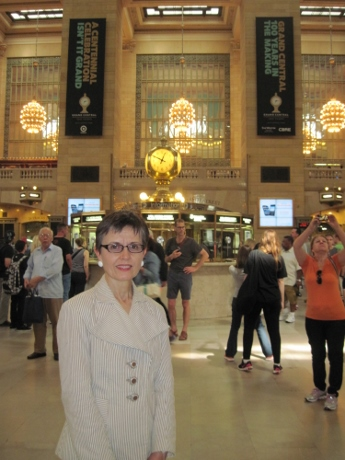 What a wonderful way to enter New York: through Grand Central Terminal!