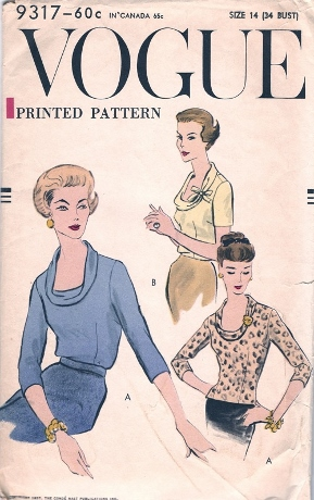 1957. Could this be a candidate for drapey knits as well as wovens?