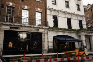 Gieves and Hawkes, at No. 1 Savile Row