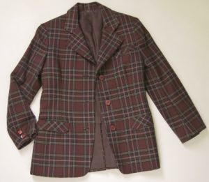 A candidate for this trip: one of the jackets I made from a 1941 pattern.