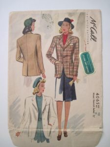 The Misses' Mannish Jackets were going to be a warmup for The Sportcoat. They weren't.