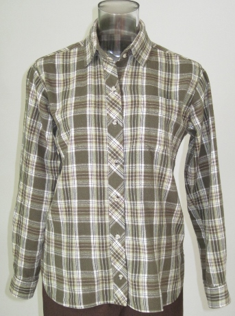 From 2009, my first rendition of this pattern. I like the bias-cut front placket.