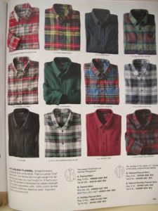 Flannel shirts! Buy them by the dozen!