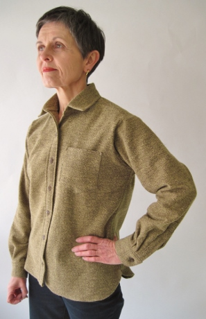 Nice sleeve placket and cuff, wouldn't you say?