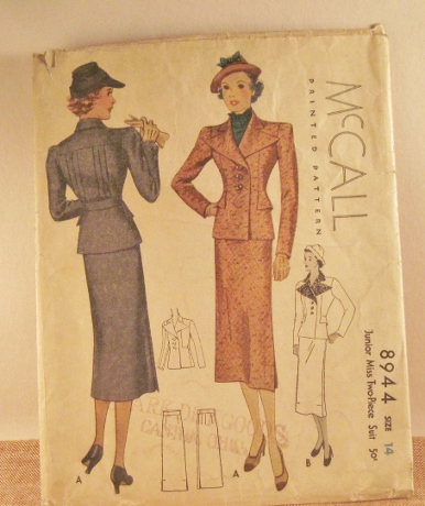 From 1936, another favorite pattern.