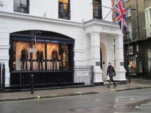 Gieves & Hawkes's exterior