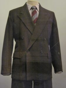 From 1941, a man's utility suit.