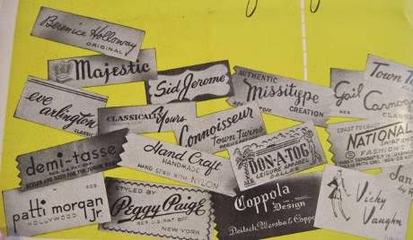 Detail. The wonderful design that used to go into labels!
