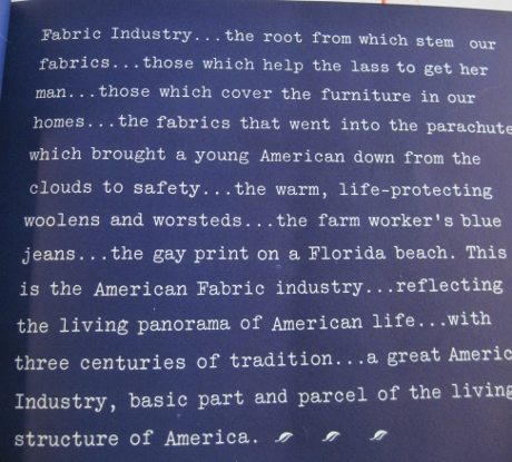 American Fabrics, issue 1, Fall 1946.