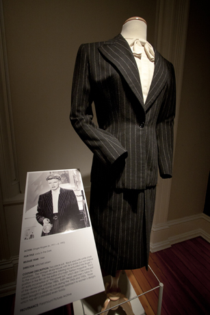 The suit in the exhibition.