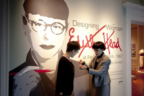 Edith Head gives me her seal of approval.