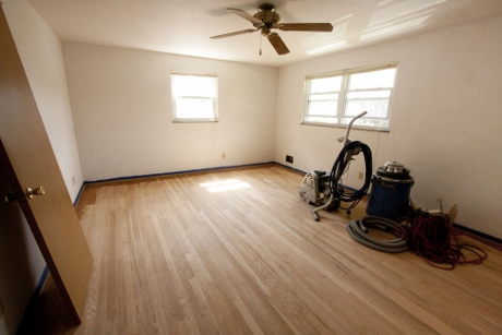 We had the floors professionally refinished.