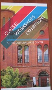 Columbus, Ohio's Cultural Arts Center offers classes in painting, metal work, and much more.