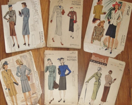 Shall I choose one of these patterns to build my tailoring skills?