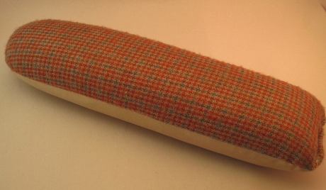 This seam roll has been flattened from so much pressing over the years.