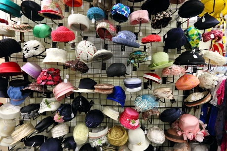Dozens and dozens of hats.