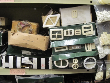 "The boxes read ""Buckles bits & bobs"", ""Funky Buckles."" I think these are dyeable. Wonderful!"