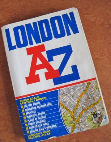 Would I run into a burning building to save my London streetfinder? I just might.