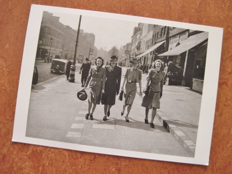 """My souvenir from """"Fashion on the Ration:"""" smart style in London, spring 1941"""