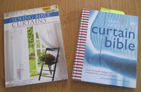 The Sewing Bible: Curtains--not to be confused with Katrin Cargill's Curtain Bible, of course!